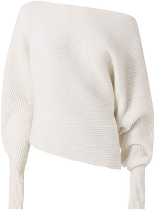 Intermix Jacqueline Off Shoulder Sweater