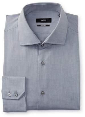 BOSS Gordon Long Sleeve Regular Fit Dress Shirt