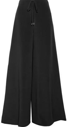 Cushnie et Ochs - Silk Crepe De Chine Wide-leg Pants - Black $1,095 thestylecure.com
