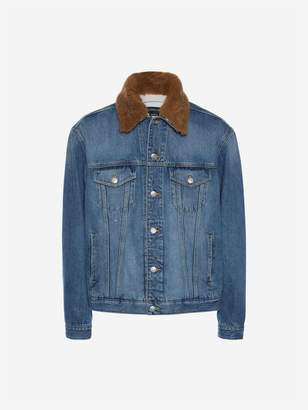 Alexander McQueen Japanese Selvedge Denim Jacket