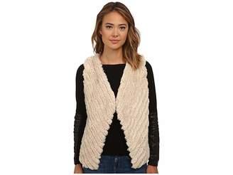 BB Dakota Keith Faux Fur Vest Women's Vest