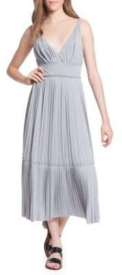 Tracy Reese Plisse Pleated Jersey Slip Dress