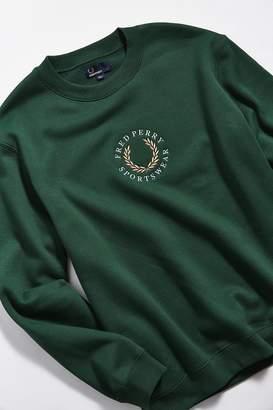 Fred Perry Logo Crew-Neck Sweatshirt