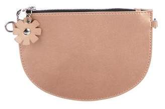 Zac Posen Metallic Leather Clutch