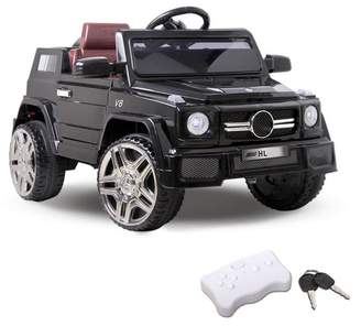 Black Ride On Toy Car