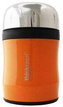 Thinkbaby Insulated Food Container with Spork, Orange
