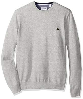 Lacoste Men's Seg 1 Cotton Jersey Crewneck Sweater