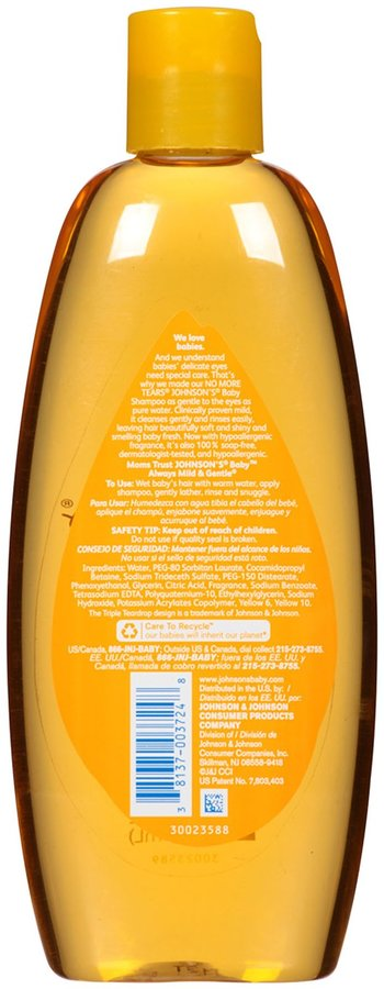 Johnson's Baby Shampoo - 15 oz