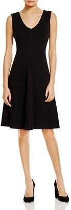 Lyssé Ponte Fit-and-Flare Dress $148 thestylecure.com