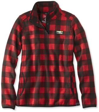 L.L. Bean L.L.Bean Sweater Fleece Pullover, Print