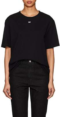 "Off-White Byredo x Women's Unisex ""Up""-Print Cotton T-Shirt"