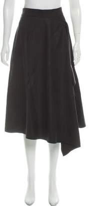 Marni Twisted Flannel Wool Skirt w/ Tags