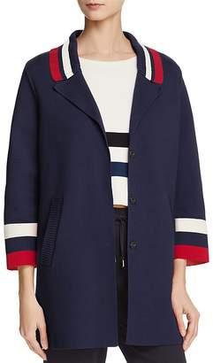 Emporio Armani Striped Cardigan - 100% Exclusive