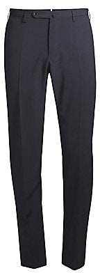 Incotex Men's Virgin Wool & Stretch Silk Trousers
