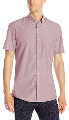 Quiksilver Men's Everyday Wilsden Short Sleeve Button Down Shirt