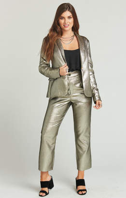 Show Me Your Mumu Barrington Blazer ~ Shimmer and Shine Suiting