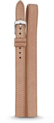 Fossil 14mm Sand Leather Wrap Watch Strap