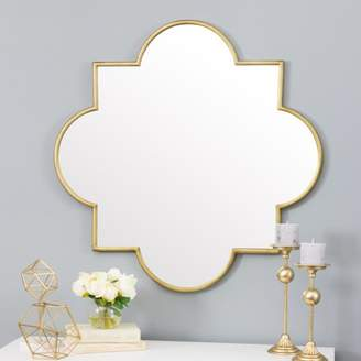 Aspire Home Accents Amira Gold Moroccan Wall Mirror