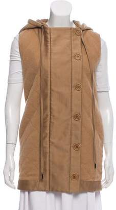 Stella McCartney Quilted Hooded Vest