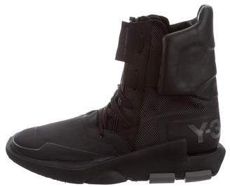 Y-3 x Adidas Noci High-Top Sneakers w/ Tags