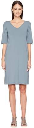 Eileen Fisher V-Neck Shift Dress Women's Dress