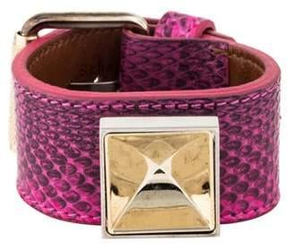 Proenza Schouler Snakeskin PS11 Wrap Bracelet