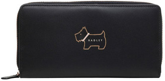Radley Heritage Dog Outline Large Zip Around Matinee