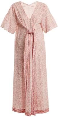 Masscob Paisley-print cotton dress