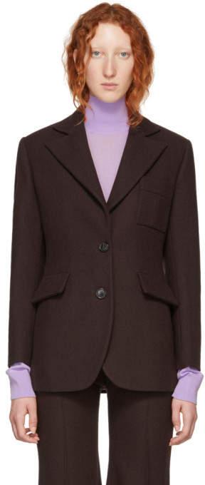 Kwaidan Editions Brown Leisure Suit Blazer