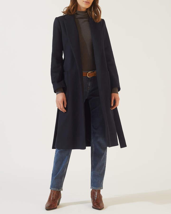 Narrow Belted Coat