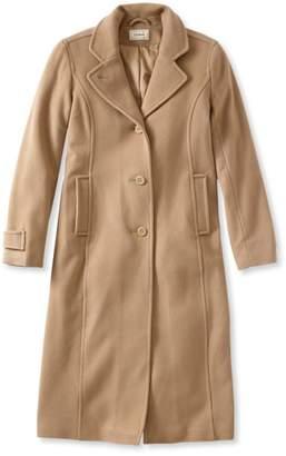 L.L. Bean L.L.Bean Classic Lambswool Polo Coat, Long