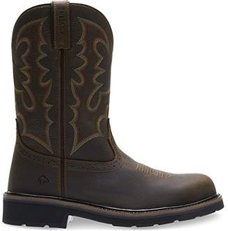 Wolverine Men's Rancher Round Soft-Toe Western Construction Boot