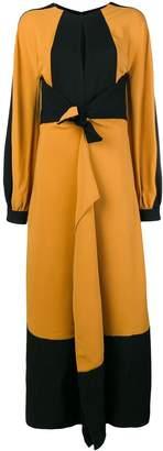 Proenza Schouler Long Sleeve Keyhole Dress