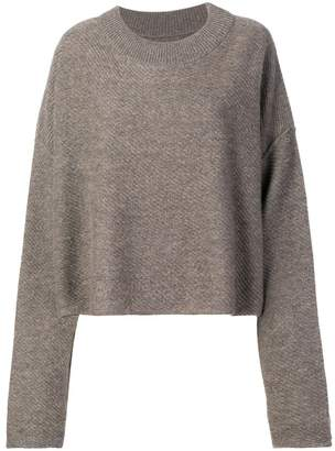 RtA cashmere cropped sweater