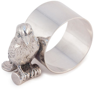 Corbell Silver Company Inc. Silver-Plated Kingfisher Napkin Ring