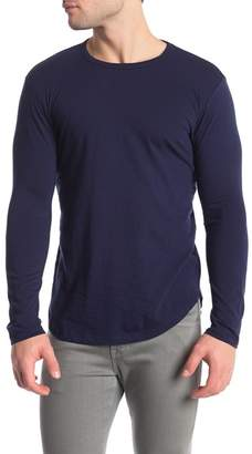 Goodlife Crew Neck Long Sleeve Tee