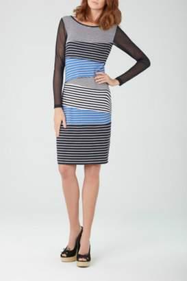 Tribal Striped Dress