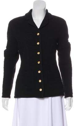 Sonia Rykiel Knit Button-Up Jacket