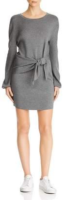 Milly Tie-Waist Sweater Dress