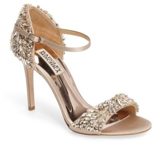 Women's Badgley Mischka Tampa Ankle Strap Sandal $325 thestylecure.com