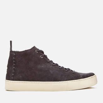 Toms Men's Lenox Suede Mid Top Trainers - Forged Iron Grey