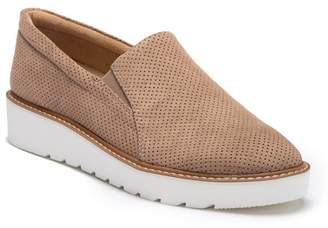 277dee072ce Naturalizer Effie Platform Perforated Slip-On Sneaker - Wide Width Available
