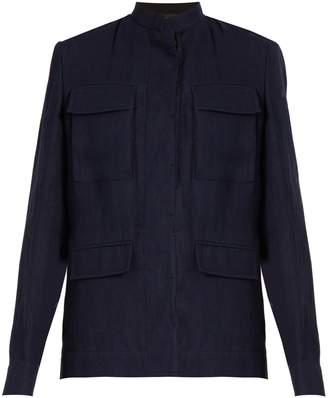 Haider Ackermann Agrippina single-breasted linen jacket