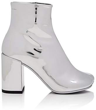 MM6 MAISON MARGIELA Women's Mirrored Leather Ankle Boots