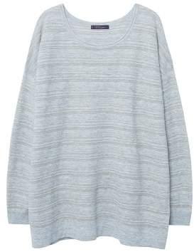 Violeta BY MANGO Lurex stripes sweater