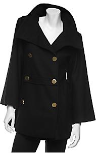Golde Hooded Cape Coat
