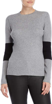 Calvin Klein Jeans Ribbed Two-Tone Sweater