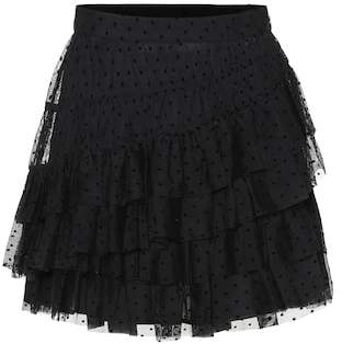 Ulla Johnson Polka-dot tulle miniskirt