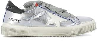 Golden Goose Women Low Top Sneakers Ette Silver May G30WS127 F3 (whoosso)