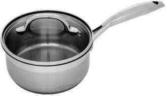 "Swiss Diamond Premium Steel Saucepan with Lid - 7"" (18 cm), 2.1 QT. (2.0 L)"